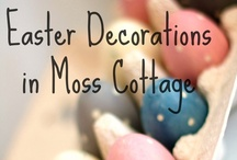 Easter @ Moss Cottage / It's all very Pink and Yellow!!!....