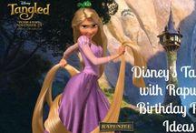 Tangled Birthday Party Theme