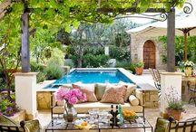 home: outdoor spaces. / by Caroline Cornatzer