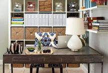 home: office space. / by Caroline Cornatzer