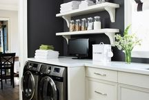 home: launder. clean. store.  / by Caroline Cornatzer