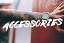 Accessories / Watches, beanies, socks, and more- All of the essentials for men and woman to complete their outfit head to toe, literally.