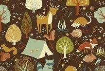 Woodland animals