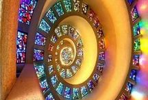 ART stained glass / by Jo Ross