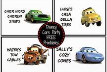 Cars 1st Birthday / For peanut