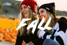 Fall / Looks to inspire your Fall style. / by Neff Headwear