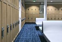 Locker Room Remodel / For the Ryder Cup 2018, the Golf National near Paris, France needed to remodel their changing room lockers. Like them, renovate your locker rooms in no time with our antibacterial self-adhesive vinyl films resistant to water, fire, dirt and wear. More info on our website www.coverstyl.com ⤵