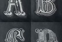 Lettering / Tutorial about lettering