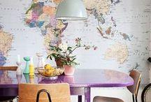 MAPS. / Parce qu'on adore et que ça nous donne envie de voyager, découvrez les plus belles cartes du monde !