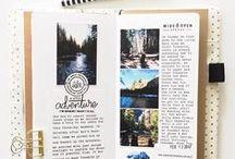 TRAVELOGE. / Inspiration pour créer vos carnets de voyage personnalisés.