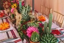 Cactus Wedding / Stunning cactus wedding inspiration! From spiky succulents to creative cacti, wedding cakes and tables displays.