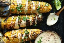 Vegetarian BBQ / Inspirations for vegetarian grilled goodies.  There is so much more than just grilled paprika & bread :)