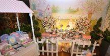 Decoração de Festas Infantis / Dicas de decoração para festas infantis - Maria Rudge - Parcerias.