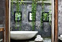 Bathrooms / Soak your troubles away!  / by Ana L M