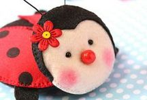 Cute Felt Crafts # 1 / by Ana L M