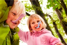 Kids Outdoor Adventure / Start 'em young! Kids thrive on plenty of time spent outdoors and with family. Combine the two, go for a hike together, or go on a family camping trip!