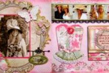 Scrapbook Pages - Double Page Layout  / by Cynthia Feenstra