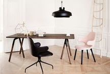 + H O M E / Playful and relaxing interior decor for the modern home.