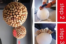 DIY Wine Crafts / Reduce, Reuse, and Recycle all your wine bottles and barrels!
