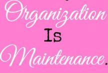 Organization Ideas / by Jenna Taylor