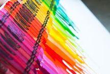 crayons / by Mandy Guyon-Rabalais