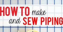 Sewing technique Tips / How to techniques for sewing, sew skills, improve skill set, learning, tutorials