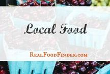Local Food Market / The beauty of buying local food. Real Food Finder.com a food directory that's up to date and easy to use for both farmer and consumer. #localfood