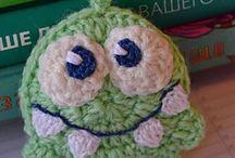 Free crochet pattern / DIY fun projects, crochet free pattern. Бесплатные авторские схемы вязания крючком.