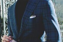 His / Tuxedo's Suits Socks Shoes Shirts Blazers
