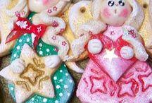 My Works - Salt Dough Little Angels / Salt Dough Little Angels