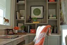 Study/Office Project Ideas / Makeover of our study...from windows to wall color, the room needs a redo. / by Jane McKissick Carter