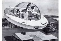 The Future Hype / Retro-futurism expresses enthusiasm for visions of the future. What life would be like in the 21st century, most of which are wildly incorrect but who cares? There are almost no limits to what imagination can achieve but these are simply the future that never was.