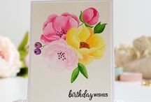 Birthdays / A collection of birthday cards & ideas using IBS birthday stamp sets, paper and dies