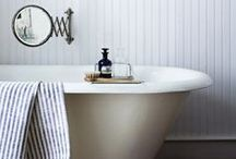: BATHROOMS : / escape. glam up in a space just as pretty as you.