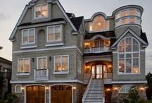 OMG  houses / Beautiful, impressive exteriors....talk about curb appeal!