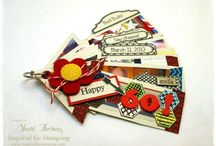 Journals Pages & Mini Albums / by Inspired by Stamping