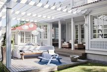 Porches and outdoor rooms / I love me a good porch and outdoor room........the best room of the house!