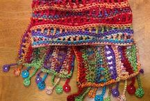 Crochet shawls ponchos