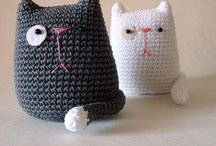 Crochet cats / Making lovely felines out of wool and happy hooking time