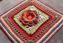 12 inch crochet squares
