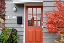 House Exteriors / All things Exterior- colours, finishes, windows, features........curb appeal at its best!