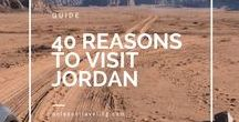 Traveling Jordan / Jordan is home to the Lost City of Petra. Find out everything you need to know for your journey to Petra and other things to see and do in Jordan with these pins.