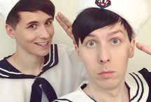 Dan and Phil❤️