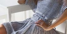 Женская вязаная одежда / джемпер, свитер, топ, платье и прочее