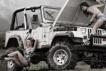 Girls and Off Road Cars - Let's Off Road / #hot #chicks #Girls #love #offroad #cars #Suzuki #Toyota #Jeep in the #Mudd