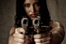 Hot chicks with guns