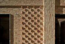 Design - Exterior wall made from bricks