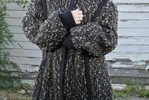 Vintage Coats / An awesome collection of vintage coats.  Repaired and Recycled.  Reducing waste and breathing new life into previously owned clothing.  Sustainable slow fashion.
