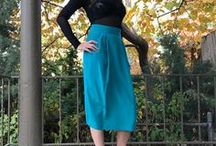 Vintage Skirts / A fantastic collection of vintage skirts.  Repaired and Recycled.  Reducing waste and breathing new life into previously owned clothing.  Sustainable slow fashion.