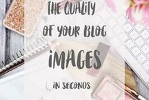 Blog Photography & Graphics / If you're a blogger and you want to improve your blog photography skills, check out this board that is jam packed full of great Pins & posts to help you nail your photography skills!